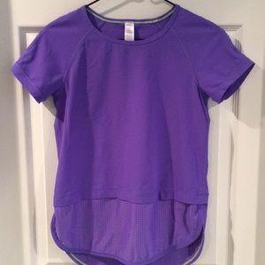 Ivivva purple girls shirt size 12